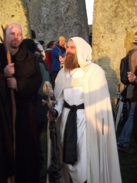 Merlin at Stonehenge Solstice