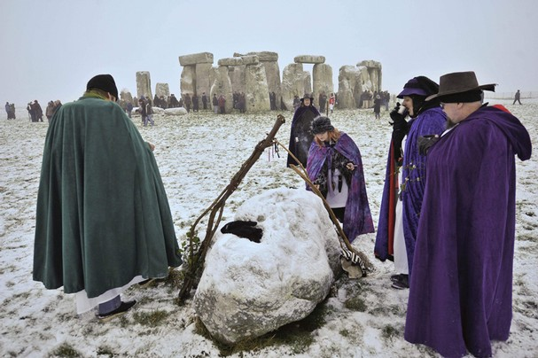 Stonehenge Winter Solstice Gathering